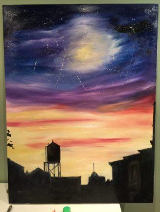 """9th Street"" 30""x 40"" Oil on Canvas 2016"